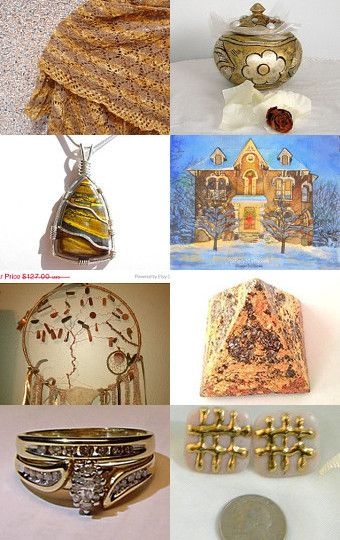 Gold..... by ROSE on Etsy--Pinned with TreasuryPin.com