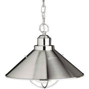 Kichler KK2713NI Seaside Down Light Pendant Light - Brushed Nickel