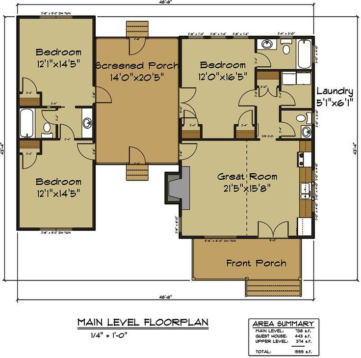 25 b sta dog trot floor plans id erna p pinterest for House plans pa