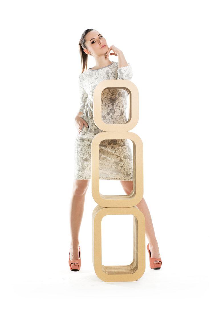Żakardowa sukienka z bawełny. Jacquard cotton dress.