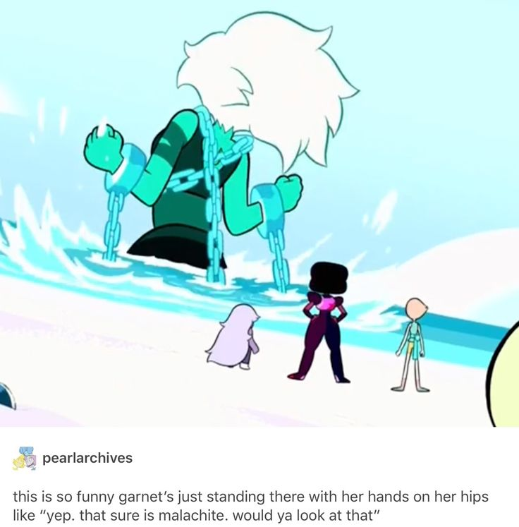"""And Amethyst is just, """"Oh gosh darn,"""" and Pearl is, """"Well whatterwegonnado now?"""""""