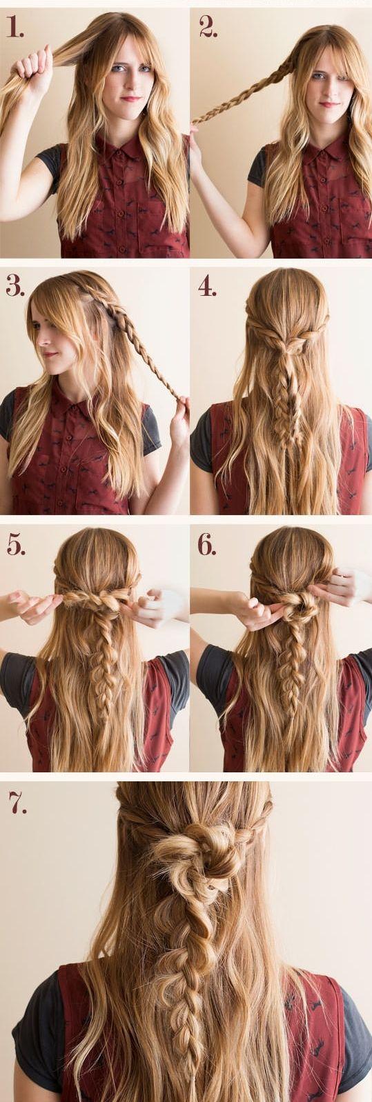 braid tutorial, hair diy, hair styles, hairstyles, beauty, hair makeup