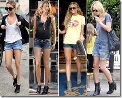 Свободные шорты джинсовые