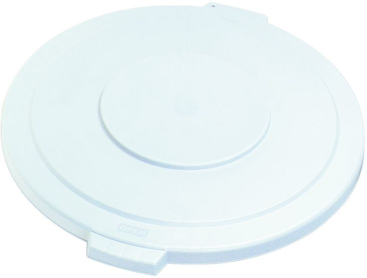 Carlisle 34103303 White Waste Container Lid For 32 Gal