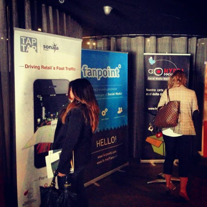 Fanpoint was amongst partners of SoLoMo Summit in Barcelona (http://solomosummit.net/)  May, 2013