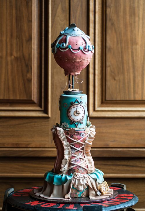Steam Punk Wedding Cakes On Pinterest
