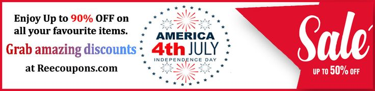 Reecoupons brings you the joy that lasts forever. We at reecoupons aim to provide the latest trends and In-fashion apparels with all gadgets & accessories that will surely make you stylish and up to date. This Independence Day enjoy the discount coupons and codes at best reasonable prices and make your day more memorable. Providing first time free shipping coupons all over the globe.