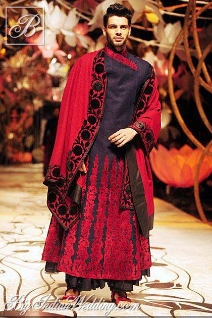 Rohit Bal groom's collection 2013