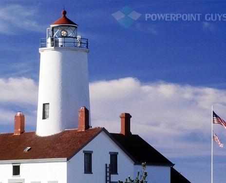 21 best americana powerpoint templates images on pinterest light house powerpoint template toneelgroepblik Choice Image