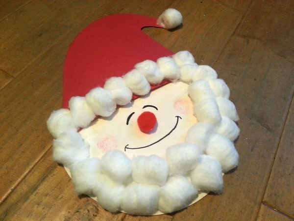 Eight free crafts for children during Holiday in the Grove, including a paper plate Santa | OregonLive.com