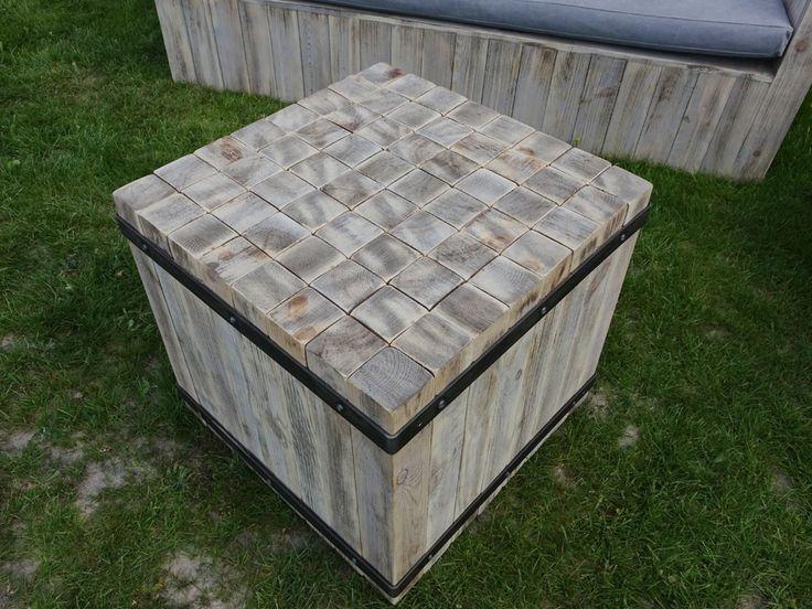 Ława rustykalna kostka Thar