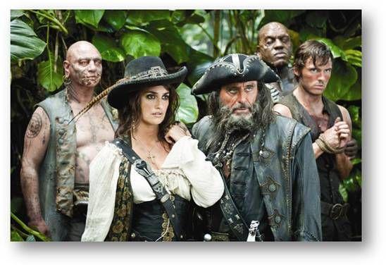 Présentation des nouveaux personnages pour Pirates des Caraïbes 4 : La Fontaine de Jouvence | Lyricis Interactive