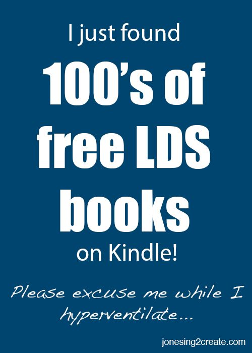 Free LDS books on Kindle. Everything from material created by the Church of Jesus Christ of Latter-day Saints to fiction written by Mormon authors.
