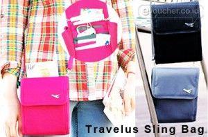 Untuk Kamu Yang Suka Bepergian Gunakan Selalu Travelus Sling Bag Ini Karna Memudahkanmu Saat Traveling Only Rp. 59.000 - www.evoucher.co.id #Promo #Diskon #Jual  Klik > http://evoucher.co.id/deal/Travelus-Sling-Bag-Februari-2014  Yang suka traveling, suka repot ngga sih kalo passport atau tiket pesawat-nya ke pisah-pisah? Ngga akan repot lagi kalo kamu punya Travelus Sling Bag. Dengan pake organizer ini, tiket pesawat, passport, uang, handphone, sampe pulpen bisa kamu sim