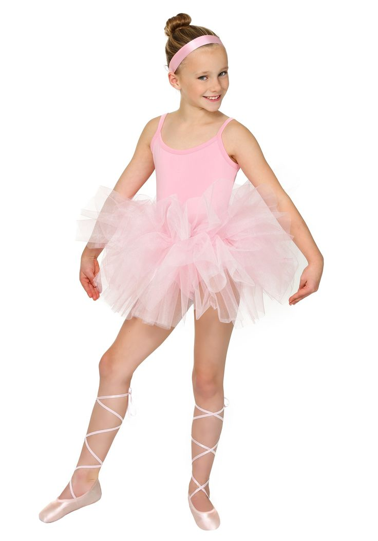 Cute kids Halloween costume idea - Dress your little one in something she aspires to be! Our child's classic ballerina costume will give her the sparkle she deserves!