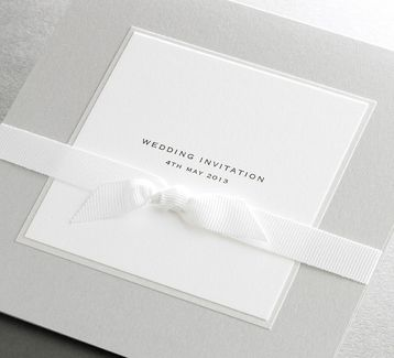 Finer Details - Classic Wedding Invitation Collection by Marie Bradley, via Behance