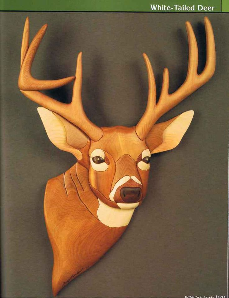 Wildlife Intarsia Patterns Make At Least 6 Copies Of The