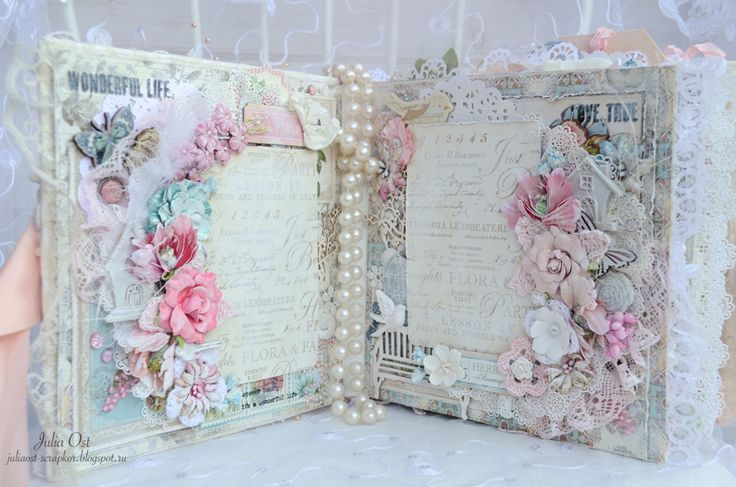 Shabby chic album @primamarketing @graphic45