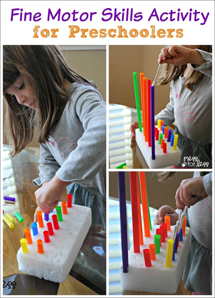 645 best images about fine motor activities on pinterest for Fine motor activities preschool