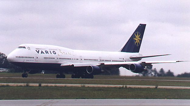 Varig - Boeing 747-800