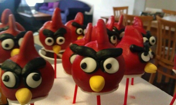Angry bird pops