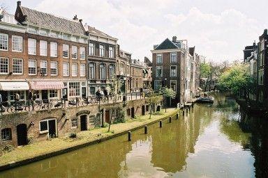 Waterfietsen in Utrecht