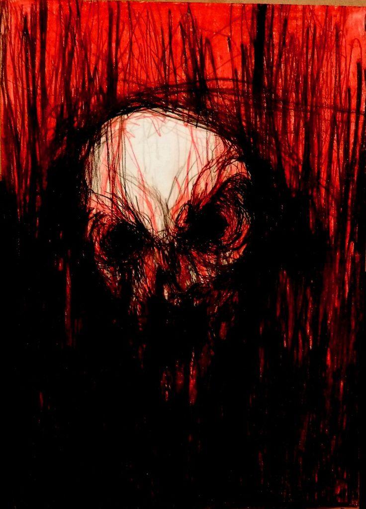 Кровавые и жуткие картинки