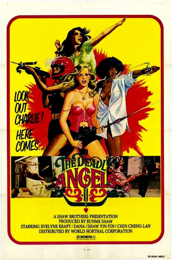 THE DEADLY ANGELS 1977 cult film