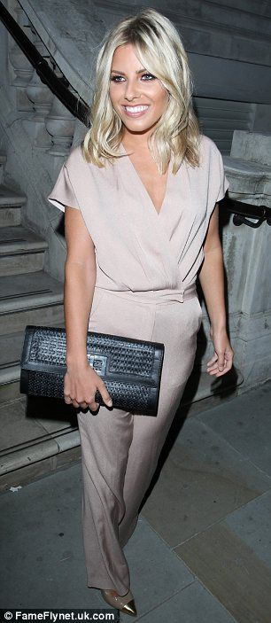 A little awkward: Mollie Kind attended the same fashion party as her ex-boyfriend and David GAndy and his new girlfriend