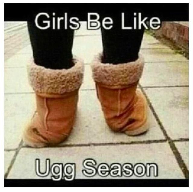 Ut oh. It's Ugg season. | Foot Funnies