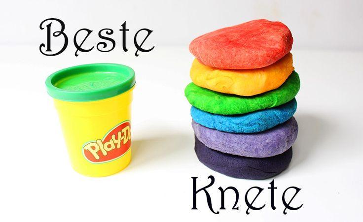 Das beste Rezept für Knete und 10 Spielideen für Kinder