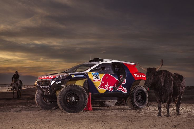 Check out the photos of Peterhansel, Sainz and Despres's Dakar challenger in its new racing colours.
