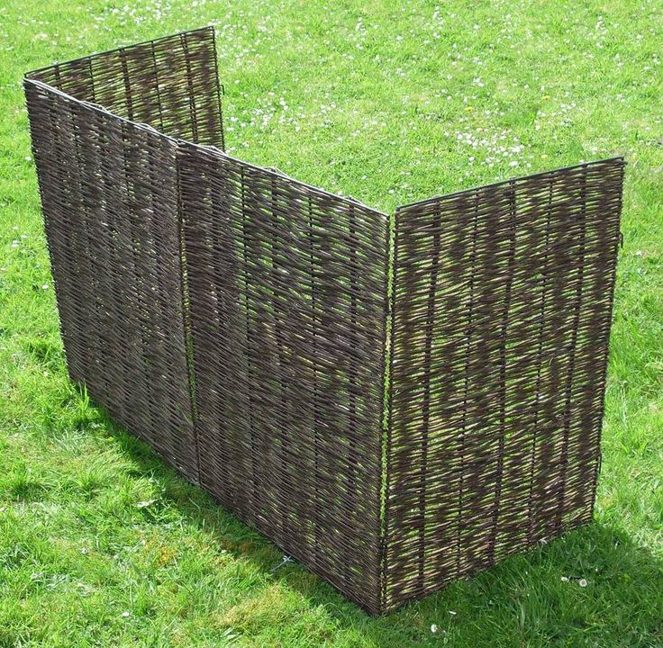 Are you interested in our wheelie bin screening? With our woven willow wheelie bin screening you need look no further.