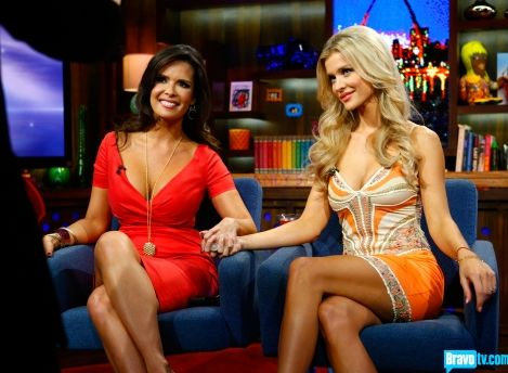 "Adriana VS. Joanna On WWHL- ""Go Back To The Slums Of Rio!"" - All Things Real Housewives"