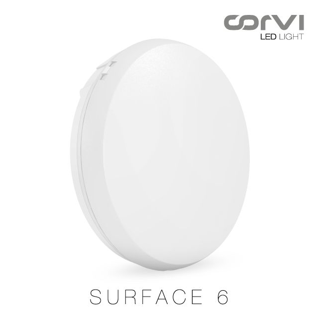 #CorviLEDLight - Surface 6 : 1350 Lumens*- 9W #Becauselightisforeveryone