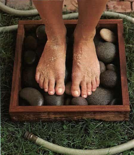 faites-vous un bain de pieds zen pour votre jardin