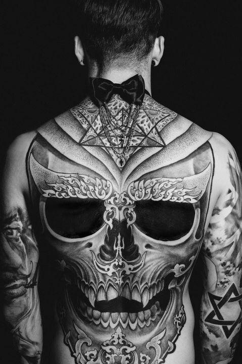 (2) skull tattoo | Tumblr