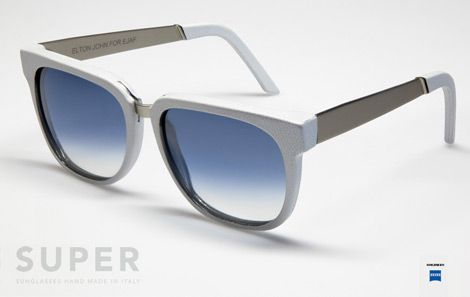 Elton John Super Sunglasses - Retro Super Future for EJAF fight agains AIDS_side