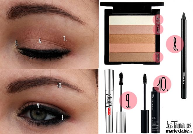 Trucco smoky eyes al naturale - MarieClaire --> http://www.marieclaire.it/Bellezza/Il-beauty-blog-di-Iris-Tinunin-fondatrice-di-stylosophique-com/trucco-smoky-eyes #trucchispirati #iristinuninperMC