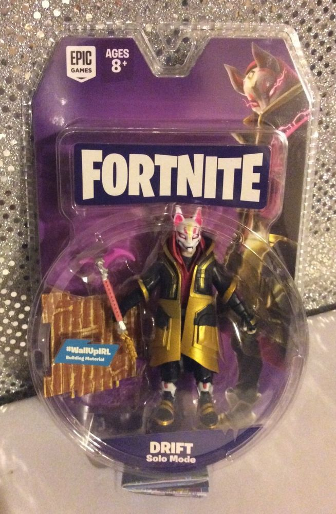 Fortnite Drift 4 Action Figure Set Mcfarlane Toys In Hand Free