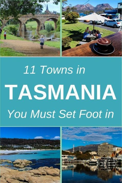 11 Towns in #Tasmania You Must Set Foot in! #travel #traveltips
