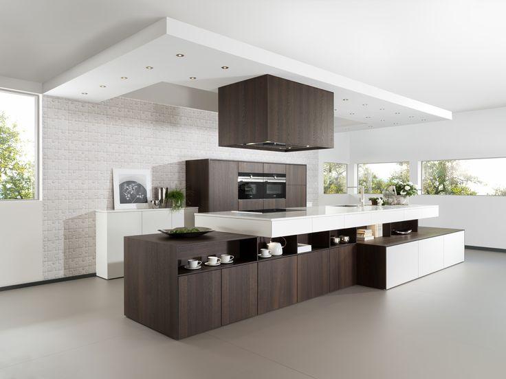 36 best küche images on Pinterest Kitchen contemporary, Kitchens - küche mit side by side kühlschrank
