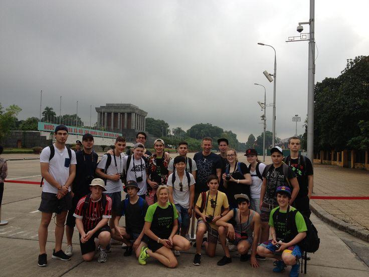 Ho Chi Minh's Mausoleum. #VietnamSchoolTours #Vietnam #Hanoi #CityTour
