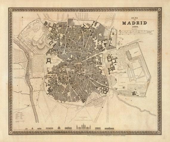 Madrid dentro de su muralla