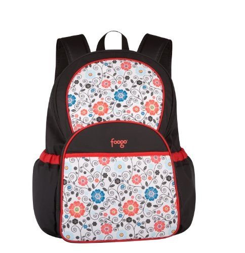 Thermos Foogo Backpack Diaper Bag, Poppy Patch. Details at http://youzones.com/thermos-foogo-backpack-diaper-bag-poppy-patch/