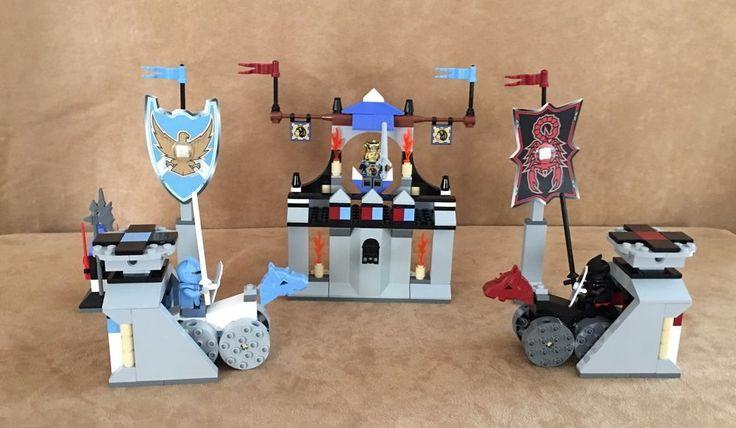 8779 Lego Complete Castle Knights' Kingdom II The Grand Tournament minifigure #LEGO