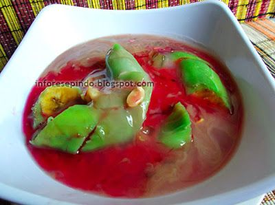 Es Pisang Ijo Khas Makasar - Resep Minuman & Dessert Indonesia