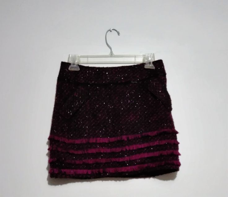 Mini falda lanilla Talla 38 $5.500