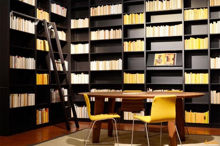 Lundia Original shelving - black library