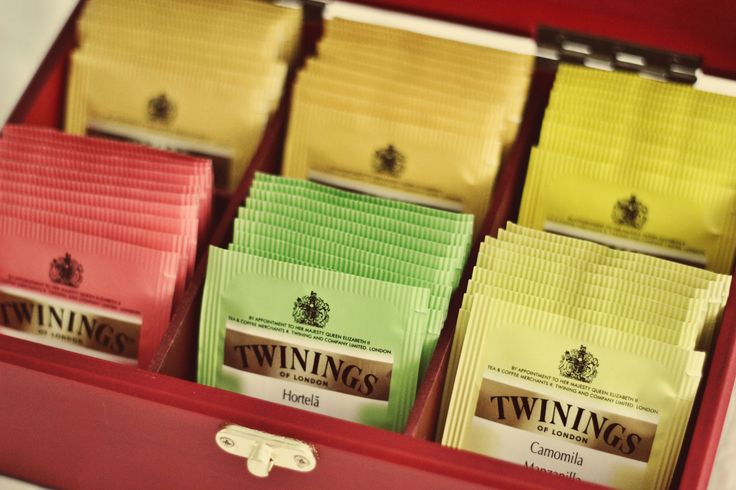 Caixa de chá Twinings #twinings